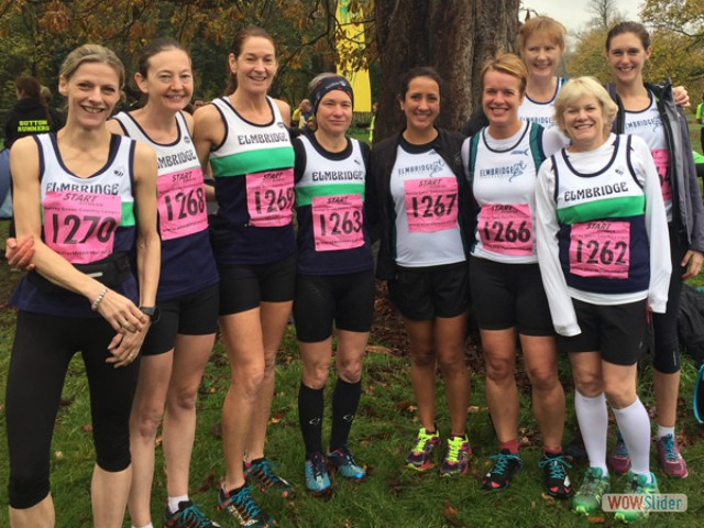 XC Ladies at Nonsuch Park-f